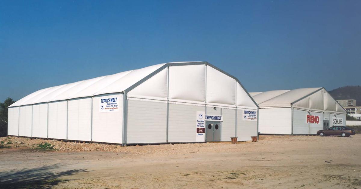 Raktár sátrak - Szabványtól az egyedi megoldásig